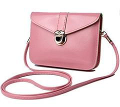 SHIP BY USPS: edfamily Women Girls Mini Handbags Leather Crossbody Singl... - $29.99