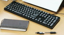 Cosy Highkey Korean English Keyboard USB Wired Membrane Cover Skin Protector image 4