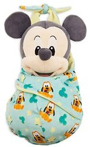 Disney Parks Baby Mickey Mouse in a Pouch Blanket Plush Doll - $68.88