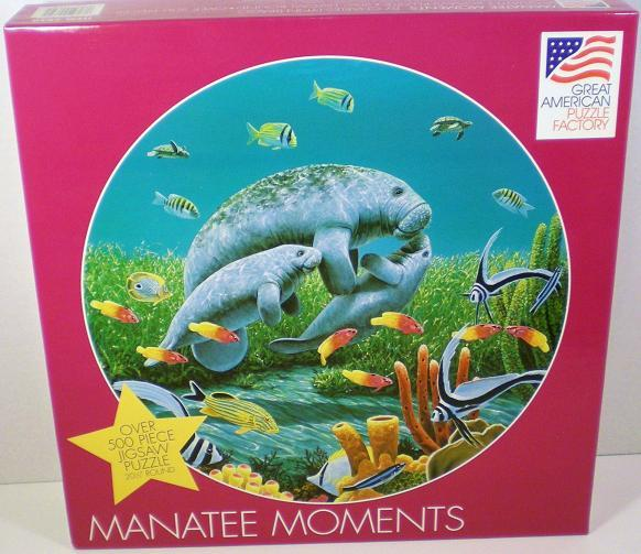 Manatee Moments a Charles Lynn Bragg Great American Puzzle