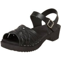Swedish Hasbeens Women's  Braided Sandal New In Box US. 10  - $99.97