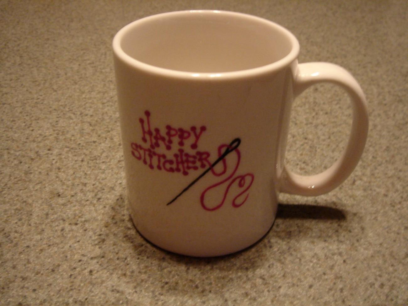 Mug happy stitcher