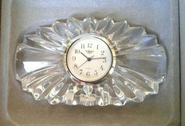 Gorham Somerset Clock Full Lead Cyrstal #804 NIB - $14.77