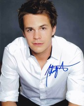 Johnny Simmons In-Person AUTHENTIC Autographed Photo COA SHA #94570 - $55.00