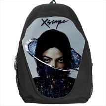 backpack michael  jackson xscape mj pop student school bag bookbag school - $39.79