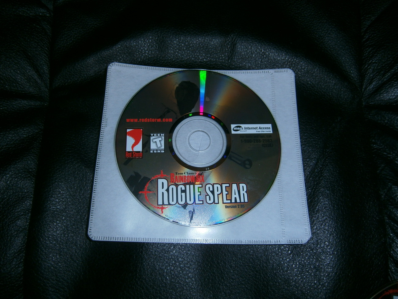 Primary image for PC TOM CLANCEYS RAINBOW 6 ROGUE SPEAR USED DISK ONLY NO MANUAL,CODE OR CASE
