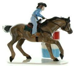 Hagen Renaker Specialty Horse Rodeo Barrel Racer Ceramic Figurine image 5