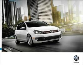 2014 Volkswagen GTI brochure catalog folder US 14 VW Wolfsburg Driver's ... - $10.00