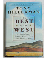 The Best Of The West Tony Hillerman 1991 HCDJ 1st Ed. - $12.50
