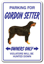 GORDON SETTER Novelty Sign dog pet parking sign... - $7.42
