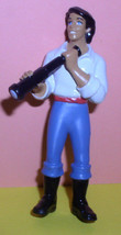Price Eric with his telescope PVC cake topper vintage Disney - $19.95
