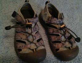 Keen Light Blue Youth Waterproof Sandals Kid's Sz - $40.19