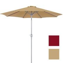 Patio Umbrella 9 Inches Aluminum Patio Market U... - $48.50