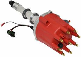 Pro Series R2R Distributor for Chevrolet SBC BBC with Fixed Collar Red Cap image 3