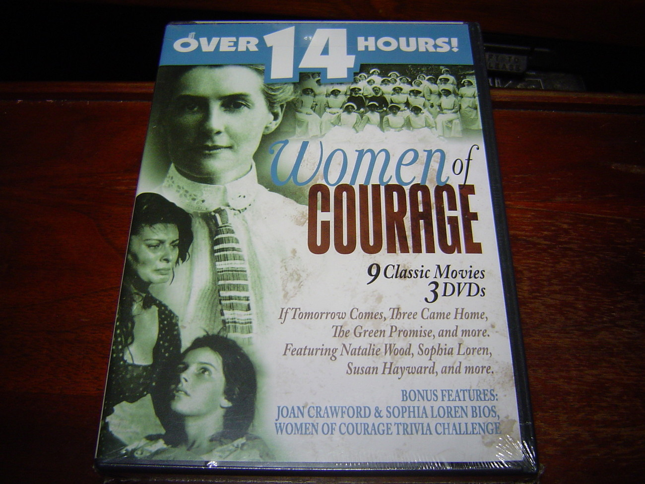 Primary image for *NEW* Women of Courage 3 DVDs 9 CLASSIC MOVIES (2005) NEW