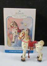 Hallmark Christmas Ornament 1939 Mobo Horse Sidewalk Cruisers 1998 w/box... - $7.92