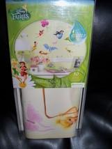 Disney Fairies Peel & Stick Wall Decals with Glitter NEW LAST ONE HTF  - $29.99