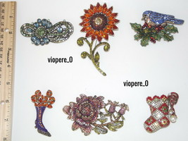Heidi Daus PINS Different Designs Price Range $98.95-$179.95 - $98.95+