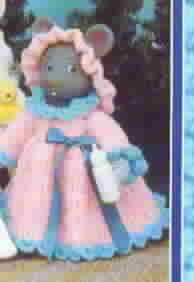 TD Creations Crochet Air Freshener Covers Series Set 4