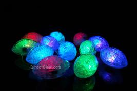 Set of 12 Litecubes Brand RAINBOW Light up LED Footballs - $36.06 CAD