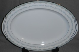 "Noritake China MARGARET PATTERN 16 3/8"" Oval Serving Platter MADE IN JAPAN - $69.29"