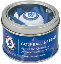 CHELSEA FC GOLF GIFT SET. GOLF BALL AND TEES - $22.99