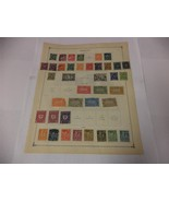 Lot of 70 Official Germany Postage Stamps 1921-1923 on Scott page - Make... - $13.93