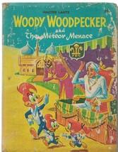 Woody Woodpecker Meteor Menace ORIGINAL Vintage 1967 Whitman Big Little ... - $9.49