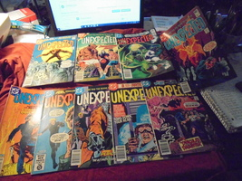 DC's THE UNEXPECTED LARGE LOT!! Issues 198 - 221 Mixed!! Most NM- * Grea... - $70.00