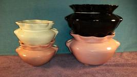 Ceramic African Violet Pot 2 pc set Medium and Large Self Watering Planter - $39.95