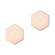 Sunlight Sterling Silver Hexagon Stud Earrings - $38.50+