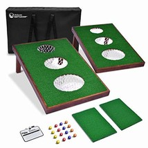 GoSports BattleChip Versus Golf Game | Includes Two 3' x 2' Targets, 16 ... - $123.55