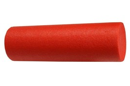 RED FOAM ROLLER 24 x 6 YOGA MASSAGE THERAPY NEW - $14.46
