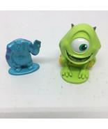 2 Disney Pixar Monsters Inc. Figures Sulley & Mike - 1 Plastic 1 Metal - $9.49