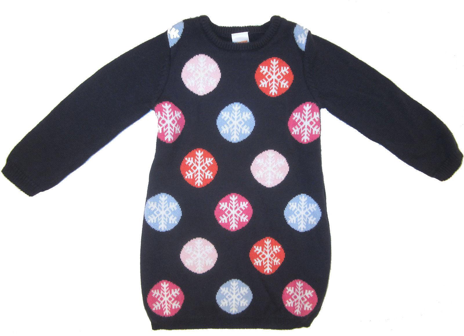 6abb606a5cc Gymboree Snowflake Sweater Dress sz 2T navy and 11 similar items. S l1600