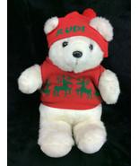 Commonwealth Rudi Teddy Bear John Wanamaker Plush Stuffed Animal Vinatge... - $29.02