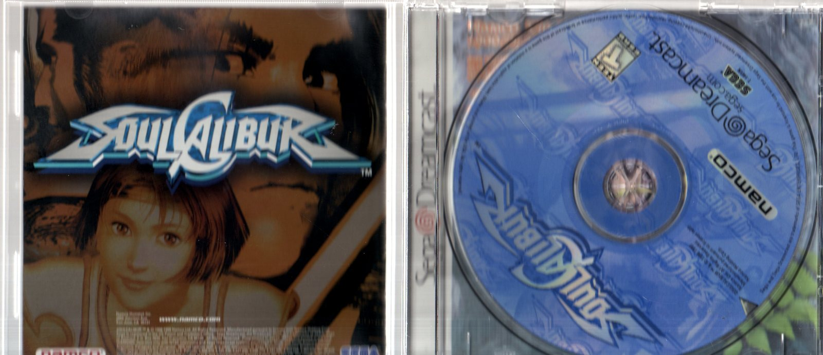 Sega Dreamcast - Soul Calibui image 4