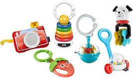 Fisher Price New Born Classic Rattle Gift Set FBH 63 - $52.10