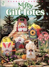 Easy Party Favors, Nifty Gift Totes & Happy Holiday Baskets Plastic Canv... - $9.95
