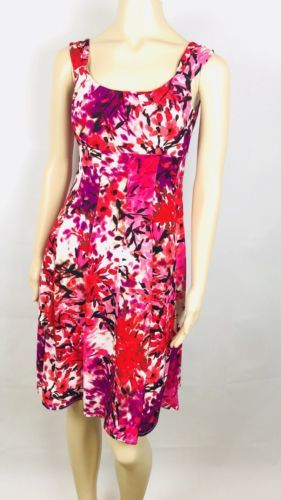 8c50637e Dress Barn Sleeveless Dress Size 4 Floral and 43 similar items. 12