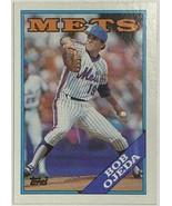 1988 Topps #558 Bob Ojeda New York Mets Baseball Card - $2.73