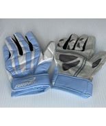 Brine Lacrosse Fire Gloves Large Light Blue, White And Grey 2008 Never NOS - $15.79