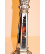 Table Lamp Sliver with Mirror Sides.  - $24.75