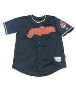 MAJESTIC Cleveland Indians MLB WAhoo Francisco Lindor #12 Blue Men's Siz... - $59.35