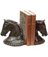 Bookends Grand Arabian Horse Head Equestrian OK Casting - $189.00