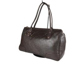 GUCCI Guccissima Leather Brown Shoulder Bag GS2571 - $449.00