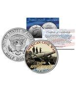 CIVIL WAR - 150th Anniversary * Fort Putnam * JFK Kennedy Half Dollar U.... - $24.06 CAD