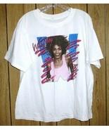 Whitney Houston Concert Tour T Shirt Vintage 1987 I Just Wanna Dance Wit... - $299.99