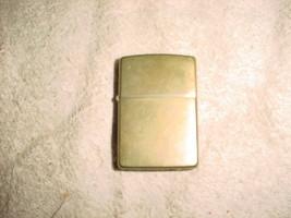 Zippo Zip Light Brushed Brass Finish Used☆Please Read Description - $28.04