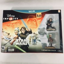 Disney Infinity (3.0 Edition) (Nintendo Wii U, 2015) Star Wars Starter Set New! - $20.05
